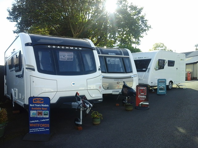New Caravans - Whitfords Caravan Centre - Burnley, Lancashire